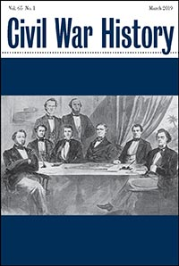 Civil War History Journal 65.1. Kent State University Press.