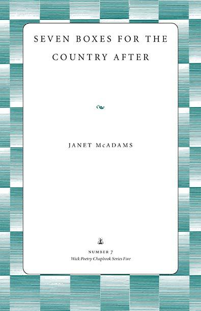 McAdams Cover