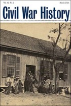 Civil War History cover 62.1