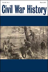 Civil War History Cover, Vol. 63.1