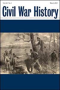 Civil War History Cover, Vol. 63.1