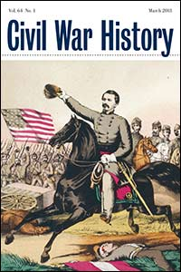 Civil War History Cover 64.1
