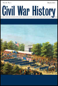 Civil War History Journal Vol. 66.1