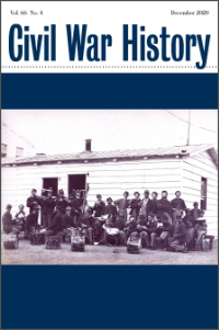 Civil War History Vol. 66 No. 4 cover image