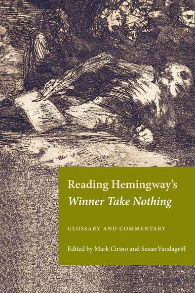 Reading Hemingway's Winner Take Nothing cover