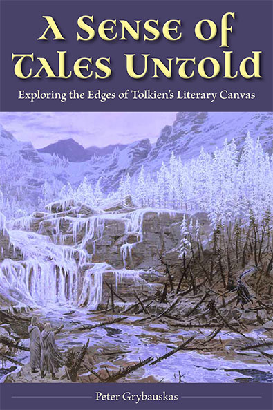 A Sense of Tales Untold by Peter Grybauskas. Cover.